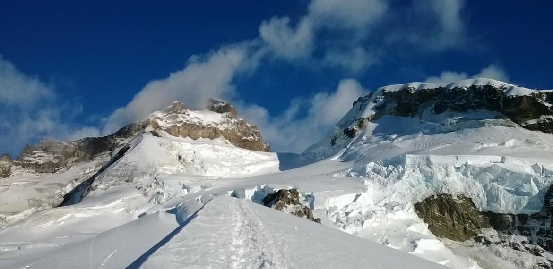 Actividades en Cerro Tronador