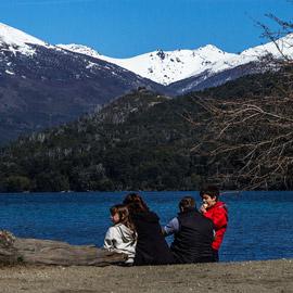 Actividades en Lago Gutiérrez Lado Oeste