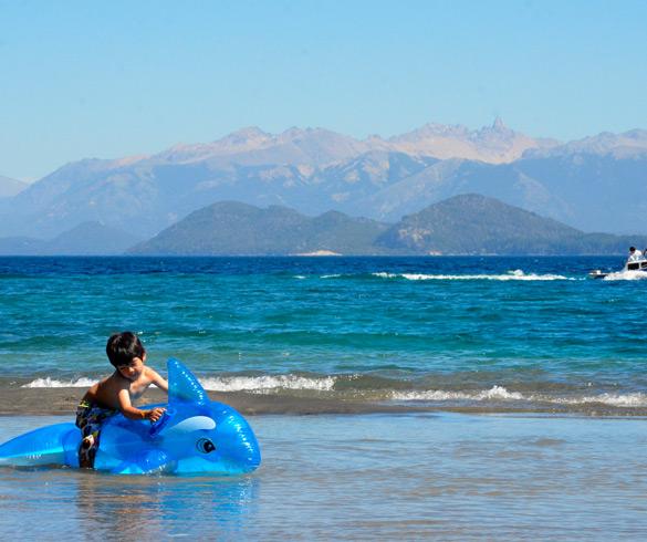 Actividades en Lago Nahuel Huapi