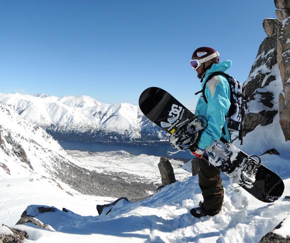 Actividades de Snowboard