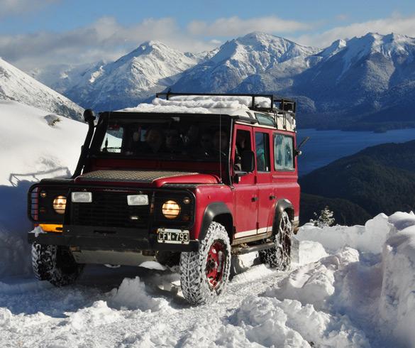 Actividades de Travesía 4 x 4 en la nieve