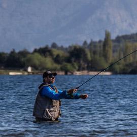 Pesca deportiva en Primavera