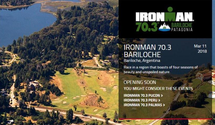Anuncian el Ironman Bariloche