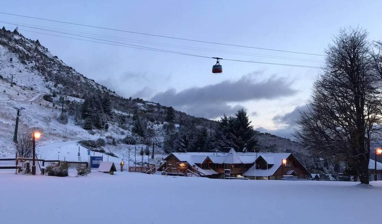 Llego la nieve al Cerro Catedral