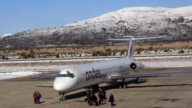 Andes vuelve a Bariloche