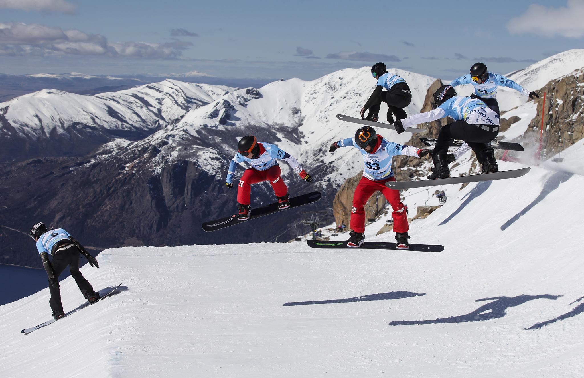 Viví la Copa del Mundo de Snowboard Cross en Bariloche