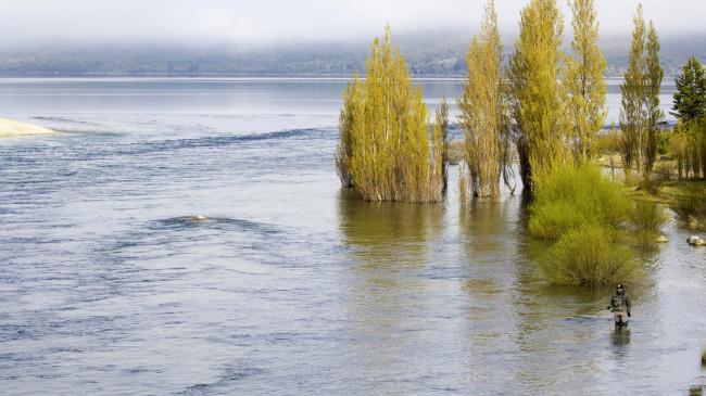 Los tips de un guía de pesca de Bariloche
