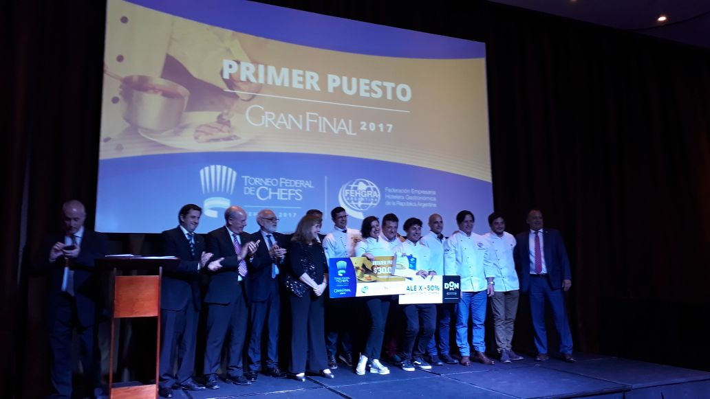 Bariloche en el podio de los torneos federales de chefs y mucamas.