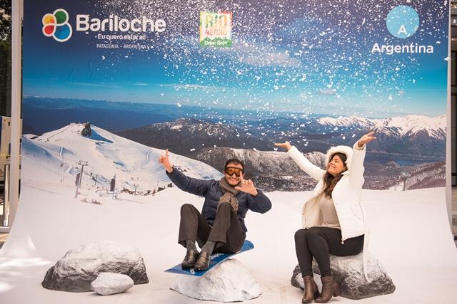 San Pablo recibió la nieve de Bariloche