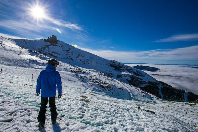 A esquiar en agosto