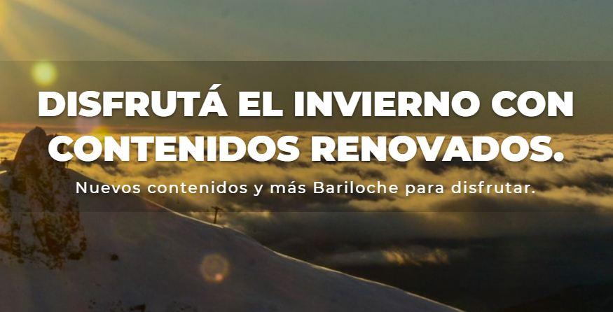 Bariloche recibe el invierno con nieve y una nueva propuesta virtual.