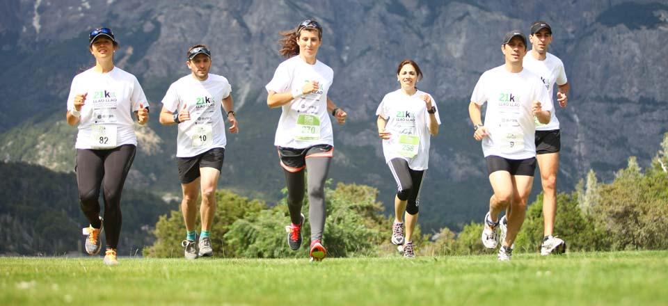 Se viene la media maratón Llao Llao 21 K