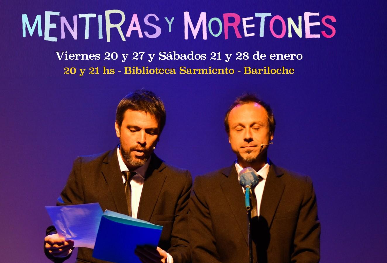 Mentiras y Moretones de Pablo Bernasconi, en la Biblioteca Sarmiento
